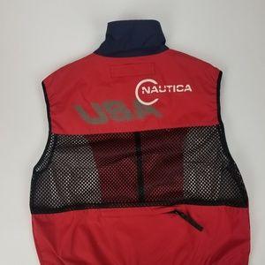 Vintage nautica competetion sailing vest